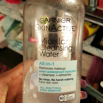 Garnier Skin Skinactive Micellar Cleansing Water All-In-1 Cleanser and Waterproof Makeup Remover uploaded by Donnesha F.
