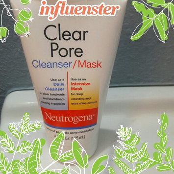 Photo of Neutrogena®  Clear Pore Cleanser/Mask uploaded by Veronica D.