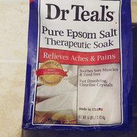 Dr. Teal's Epsom Salt Soaking Solution Magnesium Sulfate USP uploaded by Kelly G.