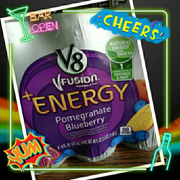 V8 Juice V8 V-Fusion Energy Pomegranate Blueberry Vegetable & Fruit Juice 8 oz, uploaded by Nelly C.