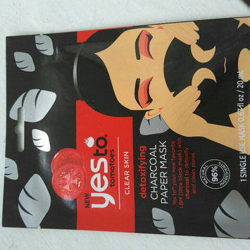 Yes to Tomatoes Paper Mask, Single Pack, Charcoal, 1 ea uploaded by Oksana N.