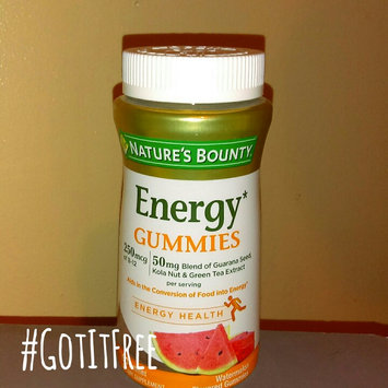 Nature's Bounty® Energy Gummies uploaded by Latara G.