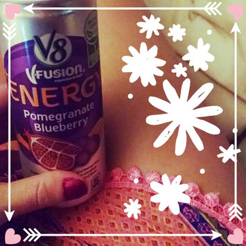 Photo of V8 Juice V8 V-Fusion Energy Pomegranate Blueberry Vegetable & Fruit Juice 8 oz, uploaded by Brandy C.
