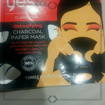 Yes to Tomatoes Paper Mask, Single Pack, Charcoal, 1 ea uploaded by Jackie F.