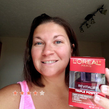 Photo of L'Oréal Paris RevitaLift® Triple Power™ Intensive Anti-Aging Day Cream Moisturizer uploaded by Jill D.