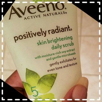 Aveeno Positively Radiant Skin Brightening Daily Scrub uploaded by Shyrita B.