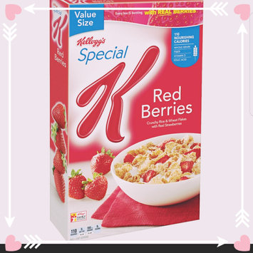 Kellogg's Special K Red Berries Cereal uploaded by Ilianne G.