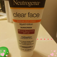 Neutrogena Clear Face Liquid Lotion Sunscreen Broad Spectrum SPF30 uploaded by Crystal  H.