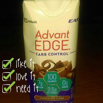 Photo of EAS Advantedge Chocolate Fudge Carb Control Shake 11 Fl Oz Carton uploaded by Vanessa O.