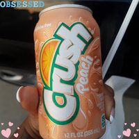 Crush Peach Soda 12 Oz Can uploaded by Devika M.