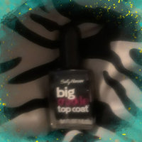 Sally Hansen Big Crackle Top Coat - Black On uploaded by Jessica F.