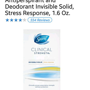 Photo of Secret Clinical Strength Smooth Solid Women's Antiperspirant & Deodorant Stress Response uploaded by Jennifer E.