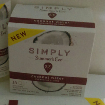 Simply Summer's Eve Coconut Water Feminine Wipe - 14ct, None - Dnu uploaded by paige w.