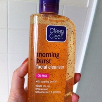 Clean & Clear Morning Burst Oil-Free Facial Cleanser uploaded by Shannan J.