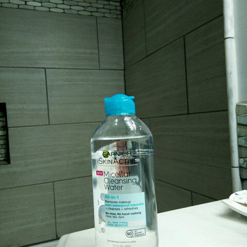 Garnier Skin Skinactive Micellar Cleansing Water All-In-1 Cleanser and Waterproof Makeup Remover uploaded by Jessica S.