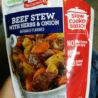 McCormick® Beef Stew with Herbs & Onion Slow Cooker Sauce uploaded by Leslie V.