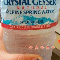 Crystal Geyser Natural Alpine Spring Water uploaded by Jackie M.