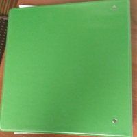 [IN] PLACE Heavy-Duty D-Ring View Binder, 2in. Rings, 100% Recycled, Army Green uploaded by amanda h.