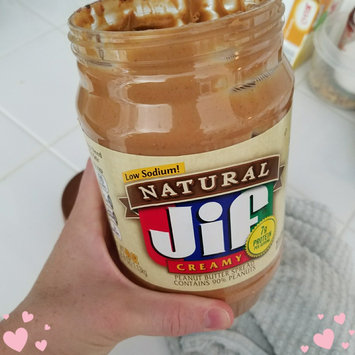 Jif Natural Peanut Butter Spread Low Sodium uploaded by Crystal B.