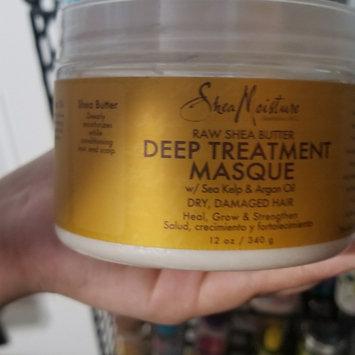 SheaMoisture Raw Shea Butter Deep Treatment Masque w/ Sea Kelp & Argan Oil uploaded by Penny O.