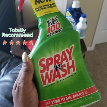 Photo of Resolve Spray'n Wash Laundry Stain Remover, 22 oz, 12/Case uploaded by Fatimah G.