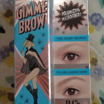 Benefit Cosmetics Gimme Brow Volumizing Eyebrow Gel uploaded by jennifer g.