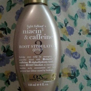 Photo of OGX® Niacin3 & Caffeine Root Stimulator Spray uploaded by jennifer g.