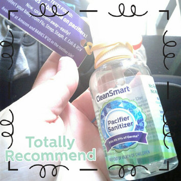Photo of CleanSmart Pacifier Sanitizer Spray - 8oz uploaded by Jazmin C.