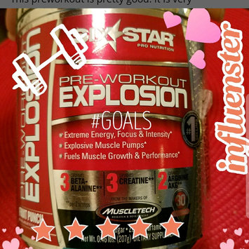 Photo of Six Star Pre Workout Explosion, Fruit Punch, .46 lb uploaded by Oyuky R.
