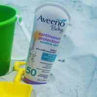 Aveeno Baby Continuous Protection Sunblock Lotion SPF 55 uploaded by Johana C.