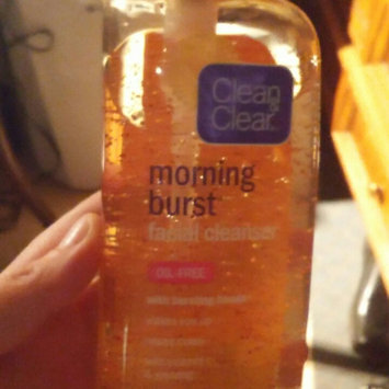 Clean & Clear Morning Burst Oil-Free Facial Cleanser uploaded by Melissa G.