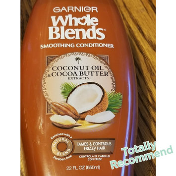 Photo of Garnier Whole Blends Coconut Oil & Cocoa Butter Extracts Smoothing Conditioner uploaded by brandi a.