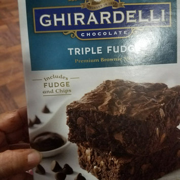 Photo of Ghirardelli Chocolate Brownie Mix Triple Fudge uploaded by Iris R.