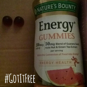 Photo of Nature's Bounty® Energy Gummies uploaded by Tris S.