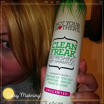 Not Your Mother's Clean Freak Unscented Dry Shampoo uploaded by Tiffany Y.