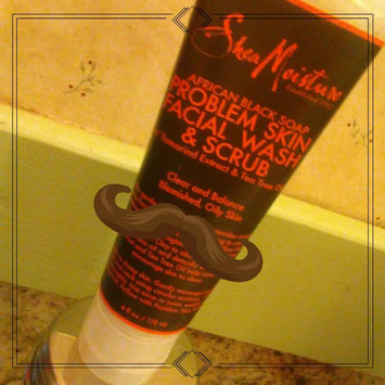 SheaMoisture African Black Soap Problem Skin Facial Wash & Scrub uploaded by Katie Y.