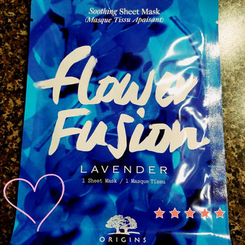 Photo of Origins Flower Fusion™ Lavender Soothing Sheet Mask uploaded by Stephanie L.