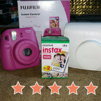 Fujifilm - Instax Mini 8 Instant Film Camera Bundle - Hot Pink uploaded by Erica M.
