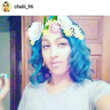 Photo uploaded to Ion Color Brilliance Brights Semi-Permanent Hair Color Aqua by Chaelesha Q.