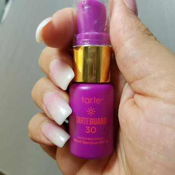 tarte tarteguard 30 sunscreen lotion Broad Spectrum SPF 30 uploaded by Lauren B.