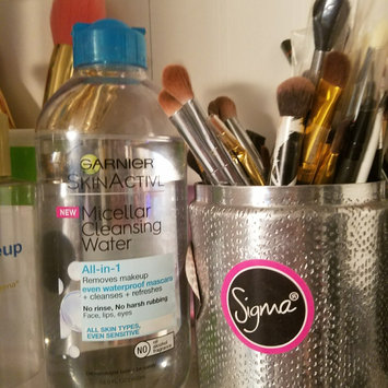 Garnier Skin Skinactive Micellar Cleansing Water All-In-1 Cleanser and Waterproof Makeup Remover uploaded by Bethany F.