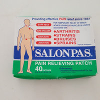 Salonpas Pain Relieving Patch uploaded by Brande M.
