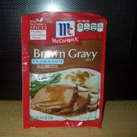McCormick® 30% Less Sodium Brown Gravy Mix uploaded by Kayla W.