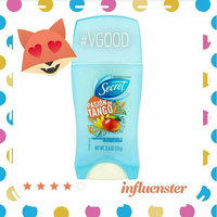 Secret® Scent Expressions Pasion de Tango Invisible Solid Antiperspirant & Deodorant 1.6 oz. Stick uploaded by Lisa R.