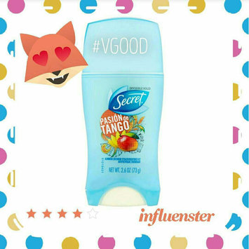 Photo of Secret® Scent Expressions Pasion de Tango Invisible Solid Antiperspirant & Deodorant 1.6 oz. Stick uploaded by Lisa R.