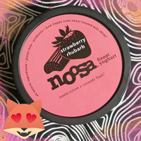 Noosa Gluten Free Strawberry Rhubarb Finest Yoghurt uploaded by James T.