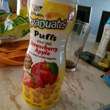 Photo of Gerber® Puffs Peach uploaded by keren a.