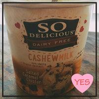 So Delicious® Cashew Milk Salted Caramel Non-Dairy Frozen Dessert 1 pt. Tub uploaded by Sarika M.