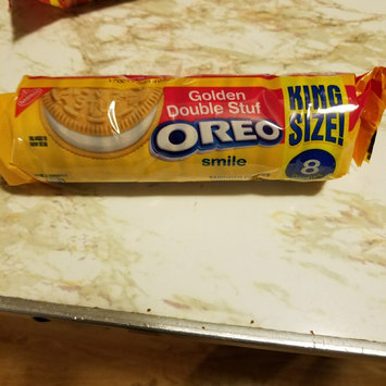 Photo of Nabisco Oreo - Sandwich Cookies - Double Stuff Golden uploaded by keren a.