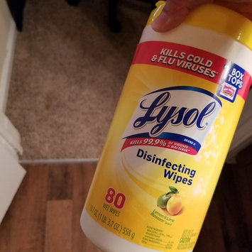 Photo of Lysol Disinfecting Wipes - Lemon uploaded by Gael L.
